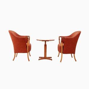 Set de Salon Progetti Vintage par Umberto Asago pour Giorgetti