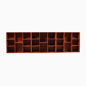Wall Shelves by Peter Hvidt & Orla Mølgaard-Nielsen for Søborg Møbelfabrik, 1950s, Set of 3