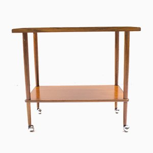 Scandinavian Teak Serving Trolley, 1960s