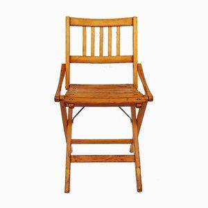 Sedia da bambino vintage pieghevole di Fratelli Reguitti