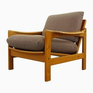 Vintage Scandinavian Teak Lounge Chair, 1960s