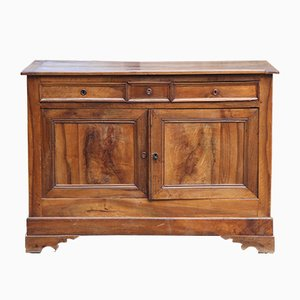 Solid Walnut Sideboard, 1900s