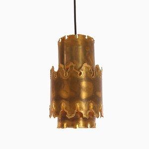 Lámpara colgante modelo 6400 brutalista de Svend Aage Holm Sørensen para Holm Sørensen & Co., años 60