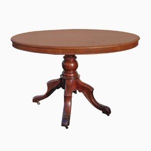 Tavolo Loo piccolo in mogano, 1905