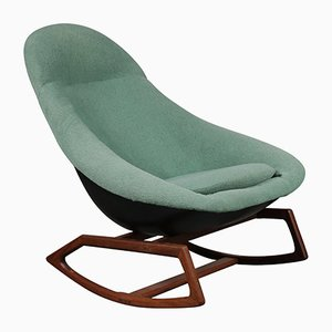 Rocking Chair Gemini par Walter S. Chenery pour Lurashell, 1960s