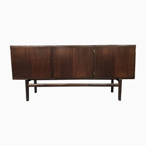 Vintage Danish Sideboard by Ole Wanscher for Poul Jeppesens Møbelfabrik