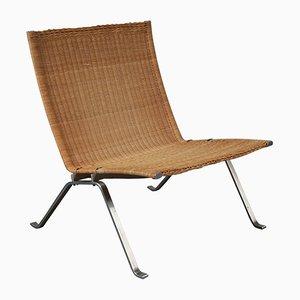 PK22 Sessel von Poul Kjærholm für Fritz Hansen, 1960er