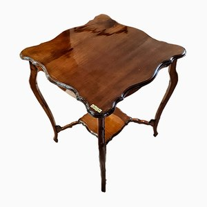 Antique English Mahogany Side Table