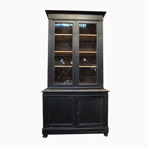 Oak and Glass Cabinet, 1920s