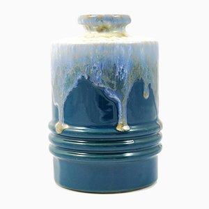 Jarrón tipo 2914 de cerámica Fat Lava de U-Keramik, años 60