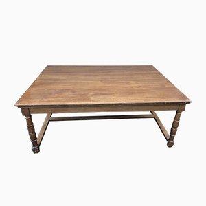 Tavolo antico dell'ambasciata francese in quercia