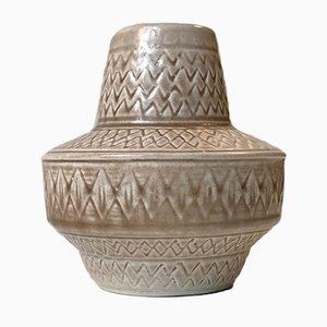 Vaso Mid-Century in ceramica di Gunnar Nylund per Rörstrand, anni '60