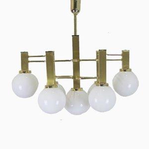 Italienische Deckenlampe, 1970er