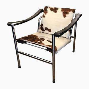 LC1 Sessel von Le Corbusier für Cassina, 1980er, 2er Set