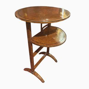 Italian Folding Side Table, 1890s