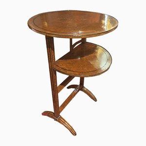Tavolino pieghevole, Italia, fine XIX secolo
