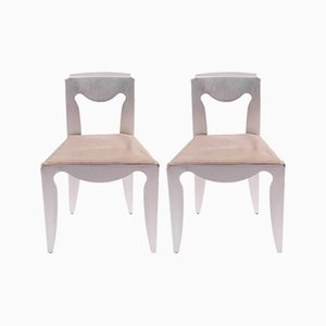 Liberta Chairs by Afra & Tobia Scarpa for Meritalia, 1989, Set of 2