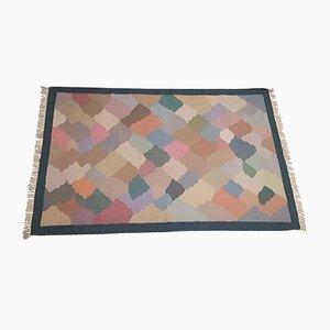 Flachgewebter Teppich, 1950er