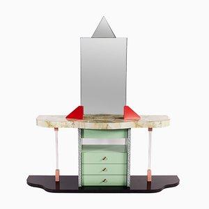 Italian Postmodern Vanity Desk, 1980s