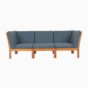 3-Sitzer GE280 Sofa von Hans J. Wegner für Getama, 1980er