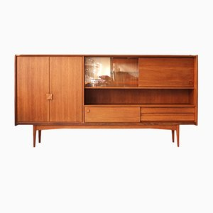 Teak Highboard from Bartels, 1960s