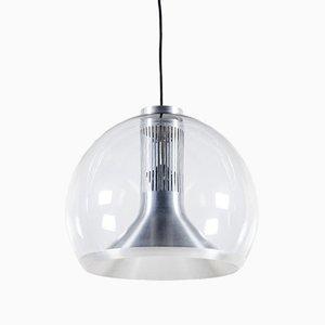 Lampada sferica di Doria Leuchten, anni '60