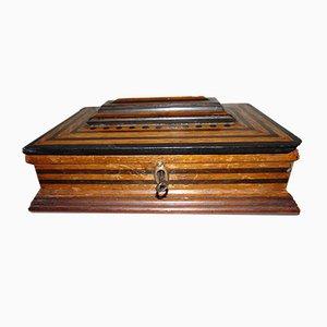 Caja Art Déco de madera, años 30