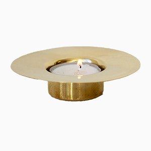 Candelabro Trumpet de latón para velas de té de Alguacil & Perkoff Ltd, 2018