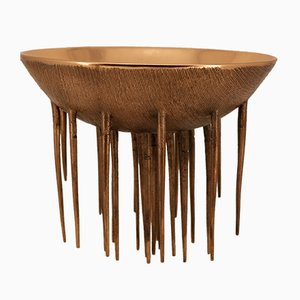 Handmade Cast Bronze Decorative Bowl by Alguacil & Perkoff Ltd, 2018