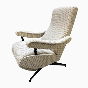 Vintage Italian Oscar Reclining Lounge Chair by Nello Pini for Novarredo, 1964