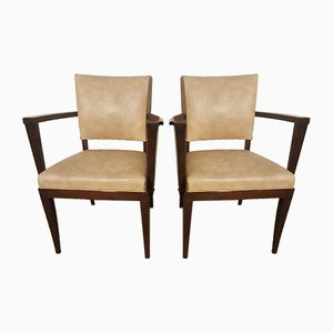 Art Deco Side Chairs from Stella, 1930s, Set of 2