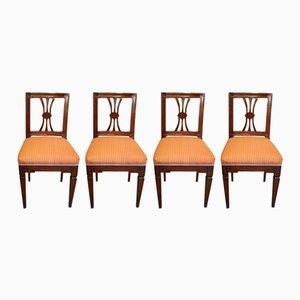 Sedie Josephine antiche, set di 4
