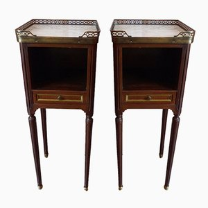 Antique French Nightstands, Set of 2