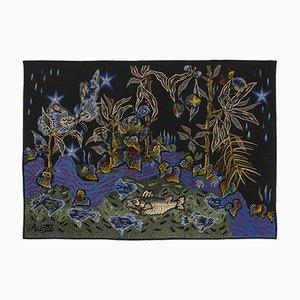 Lumière Des Eaux Tapestry by Jean Lurçat for Raymond Picaud Aubusson, 1960s