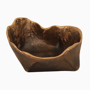 Handmade Cast Bronze Bowl by Alguacil & Perkoff Ltd, 2018