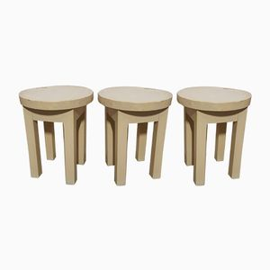 Vintage Stools, Set of 3