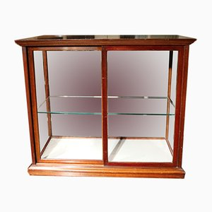 Antique English Cadbury's Chocolate Display Cabinet