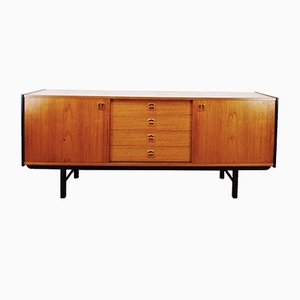 Honey Teak Chest of Drawers, 1960
