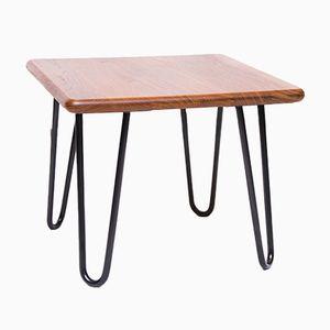 Tavolo vintage in legno massiccio di Salin Mober, anni '60