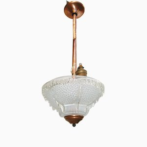 Lampada vintage in stile Art Nouveau di Ezan