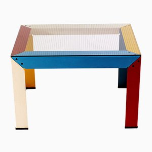 Vintage Italian Postmodern Coffee Table, 1980s