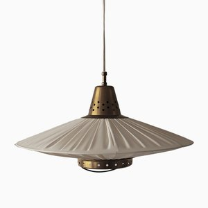 Height Adjustable Ceiling Lamp by Hans Bergström for Bergboms, 1940s