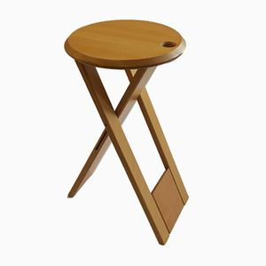 Sgabello Suzy vintage in faggio di Adrian Reed per Princes Design Works Ltd, anni '80