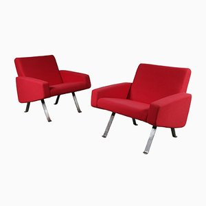 Vintage Lounge Chairs by Joseph André Motte for Artifort, 1965, Set of 2