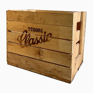 Caja para cerveza danesa vintage, años 60