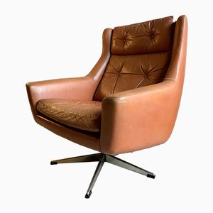 Mid-Century Danish Swivel Lounge Chair, 1960s