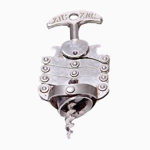 Sacacorchos Zig-Zag vintage de Jules Bart, 1961