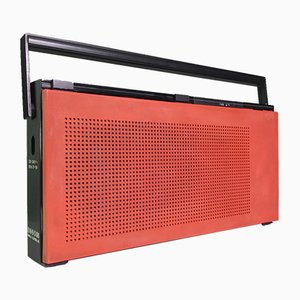 Radio a Transistor Beolit 707 vintage rossa di Bang & Olufsen, Danimarca, anni '70