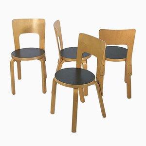 Dining Chair by Alvar Aalto for Artek Finland, 1980s