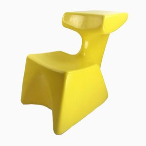 Vintage Zocker Children's Chair by Luigi Colani for Lübke